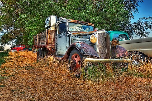 1936 Chevy Farm Truck old car