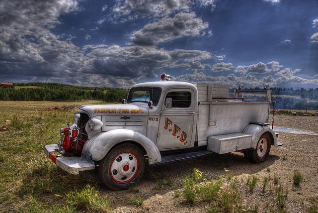 Vintage Firetruck old car