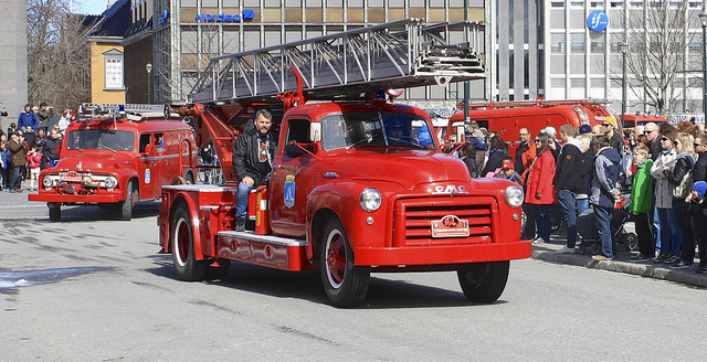 1948 GMC Fire Truck old car
