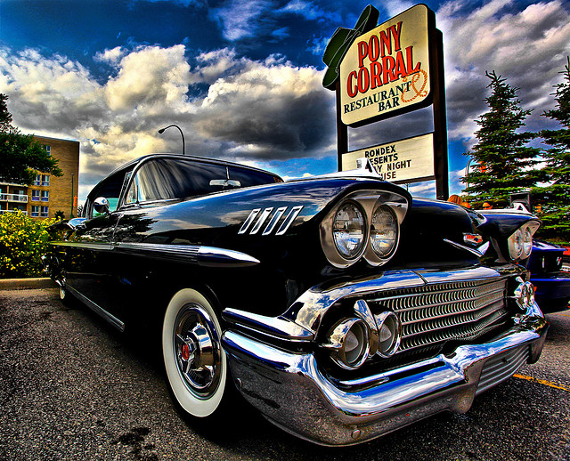 1958 Impala old car