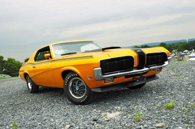 Mercury Cougar Eliminator muscle car