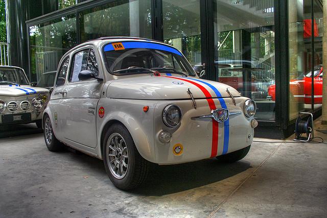 1967 Fiat Cinquecento sports car