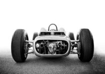 Porsche 804 Formula One Racing Car