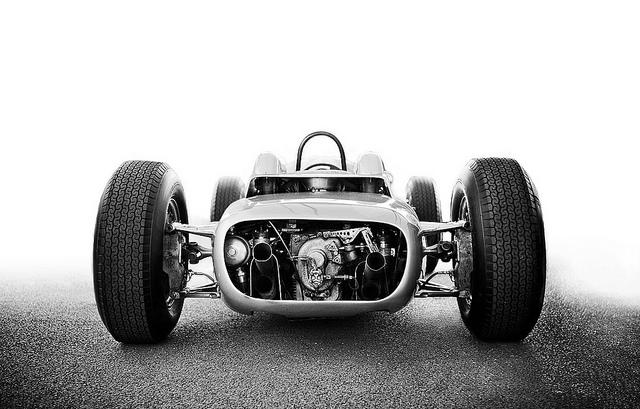 Porsche 804 Formula One Racing Car