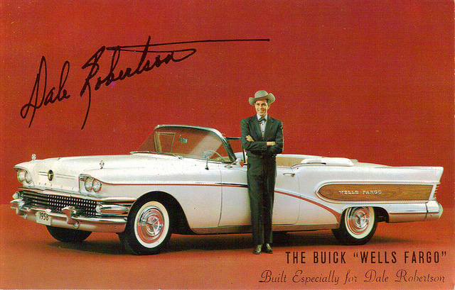 1958 Buick Limited Edition old car