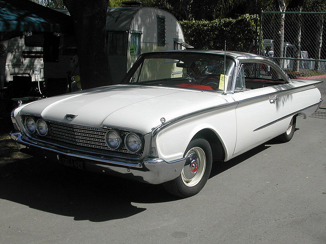 1960 Ford Starliner old car