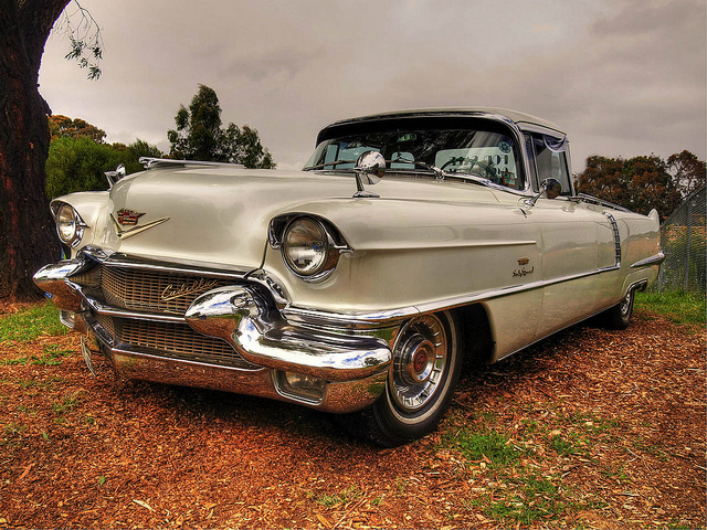 1956 Cadillac 60 old car