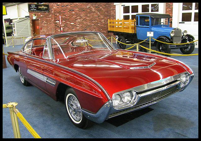 1963 Ford Thunderbird old car