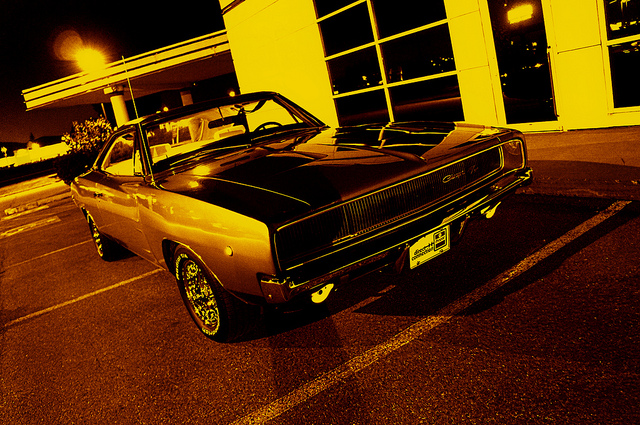 1968 Dodge Charger old car