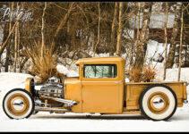 1931 Golden Ford Pickup Truck