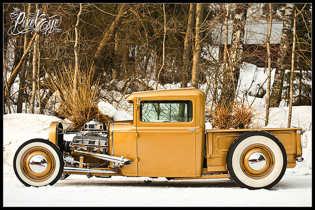 1931 Golden Ford Pickup Truck
