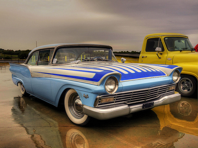 1957 Ford Fairlane old car