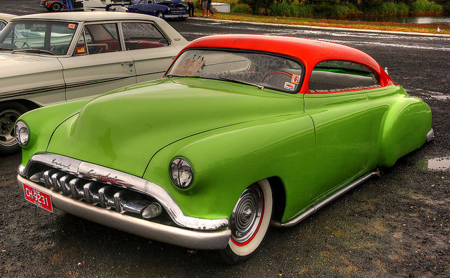 1951 Buick old car