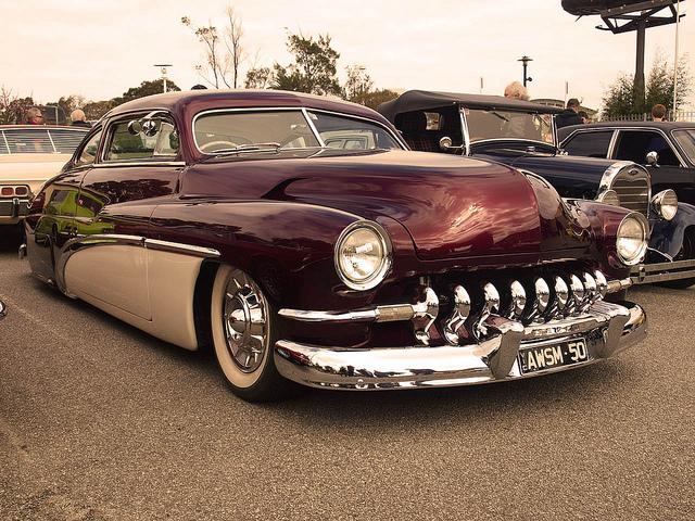 1950 Mercury old car