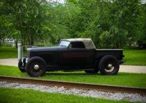Hot Rod Convertible Pickup Truck