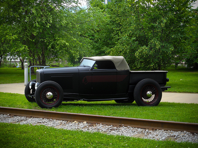Hot Rod Convertible Pickup Truck