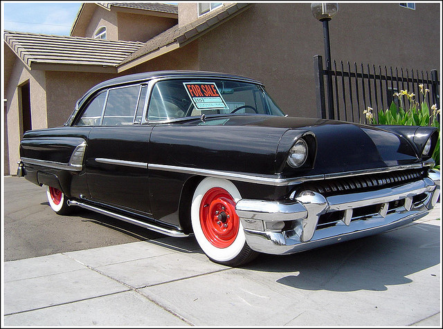 1955  Mercury  Montclair old car