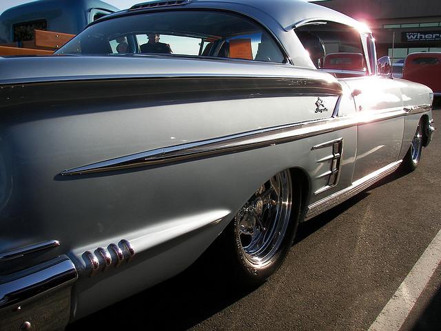 58 Chevy Impala luxury car