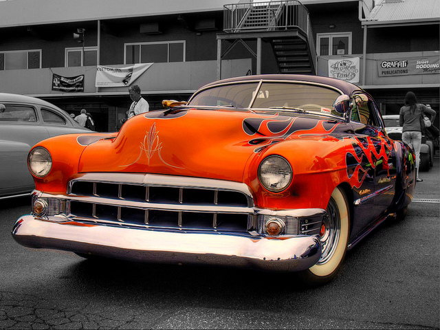 1949 Cadillac Coupe DeVille old car
