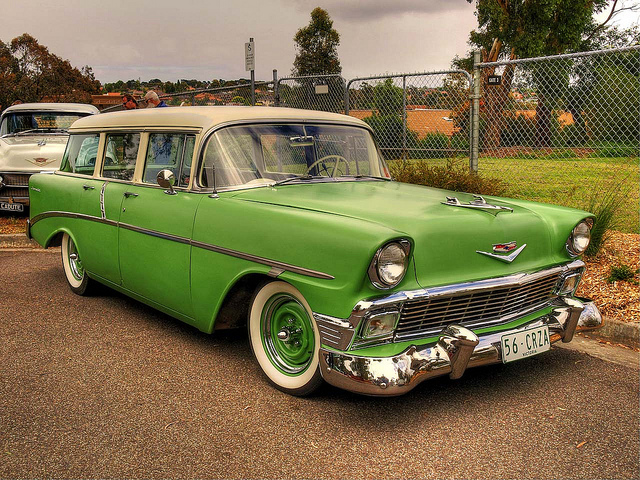 1956 Chevy 210 Beauville Station Wagon