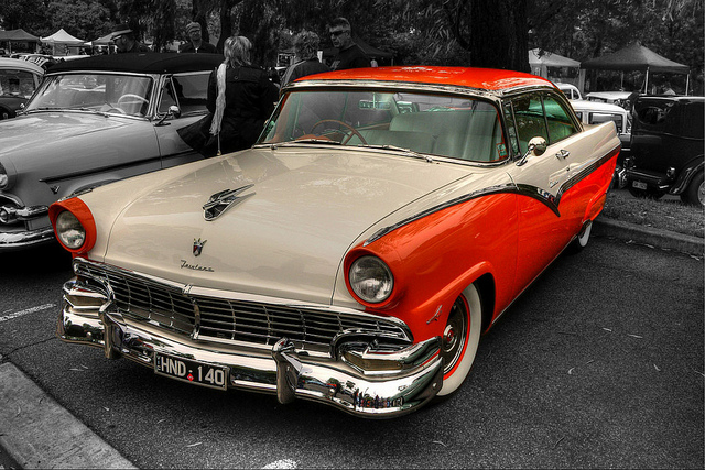 1956 Ford Fairlane old car