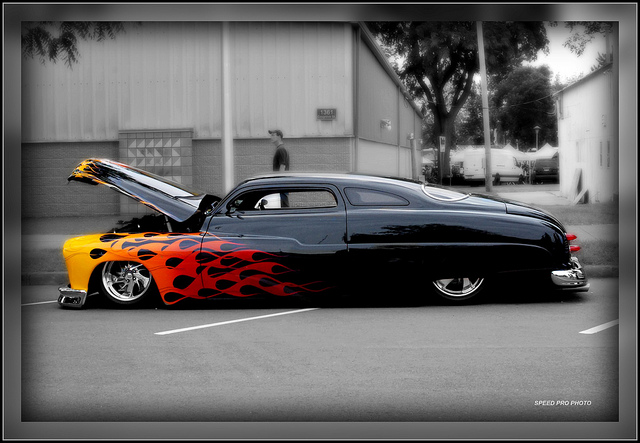 1951 Mercury Eight custom classic car