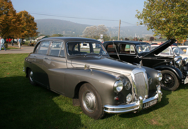 1966 Daimler Majestic old car
