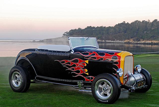 Tom McMullen 32 Roadster old car