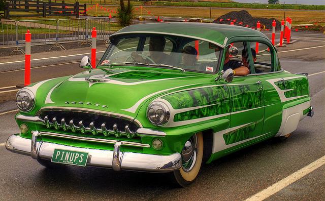 1954 Desoto Diplomat old car