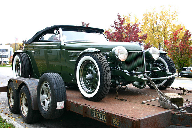 Convertible Hot Rod