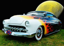 1950 Flamed Mercury