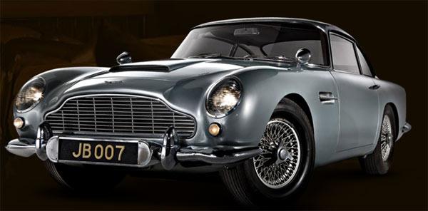 1964 Aston Martin DB5 Goldfinger