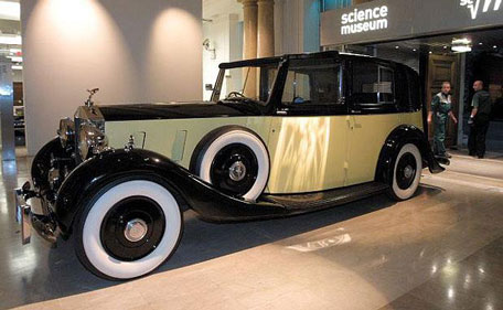 1937 Rolls Phantom III Antique Car