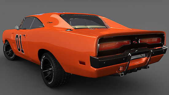 1969 Charger General Lee television series