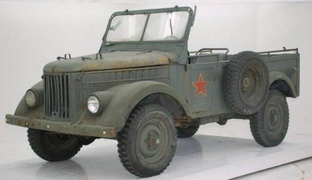 1961 Gaz 69M vintage truck
