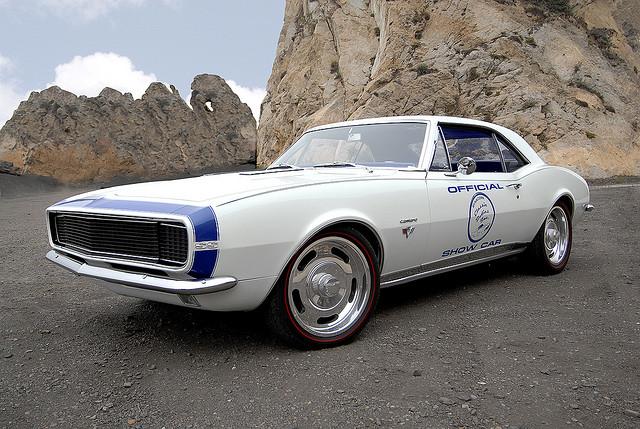 1967 Chevy Camaro muscle car