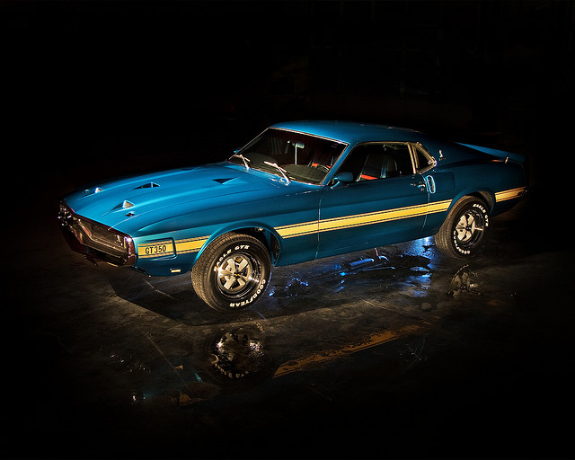 1969 Shelby Mustang muscle car