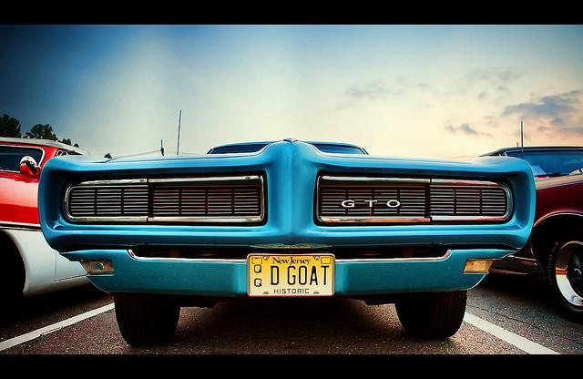 Pontiac GTO muscle car