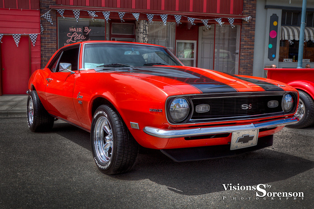 1968 Chevrolet Camaro muscle car