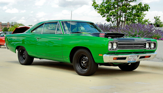 Mean Green Machine Muscle Car