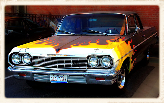Chevy Fire Eater muscle car