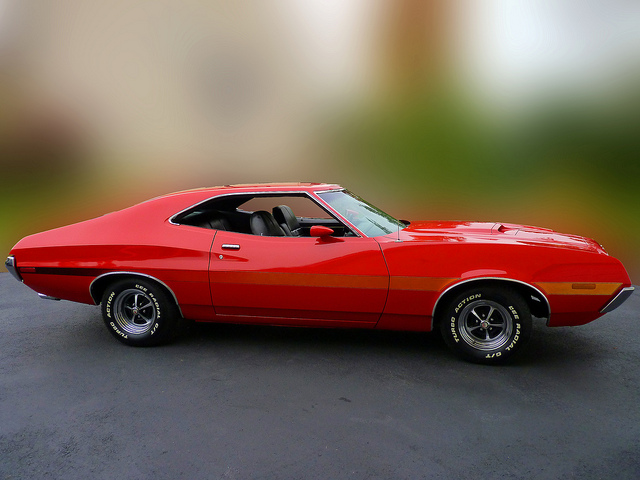 1972 Gran Torino muscle car