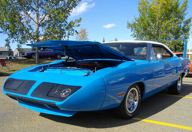 1970 Plymouth Superbird muscle car