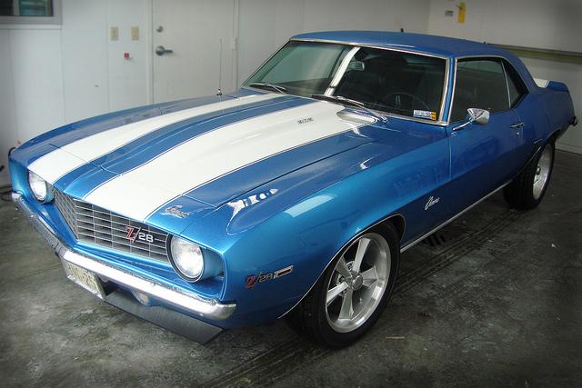 1969 Chevrolet Camaro muscle car