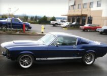 Vintage Shelby Mustang 350E