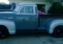 1953 Chevy 3100 5 Window Dually