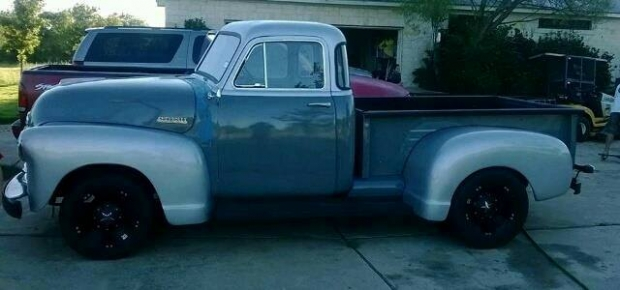 1953 Chevy 3100 5 Window Dually pickup truck