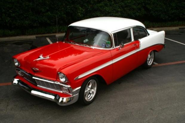 1956 Chevy Bel Air full size car