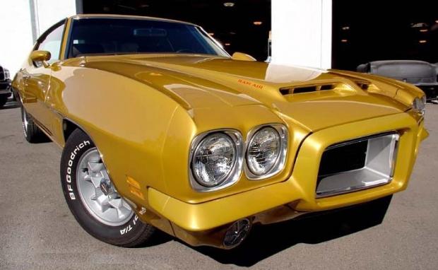 1972 GTO muscle car