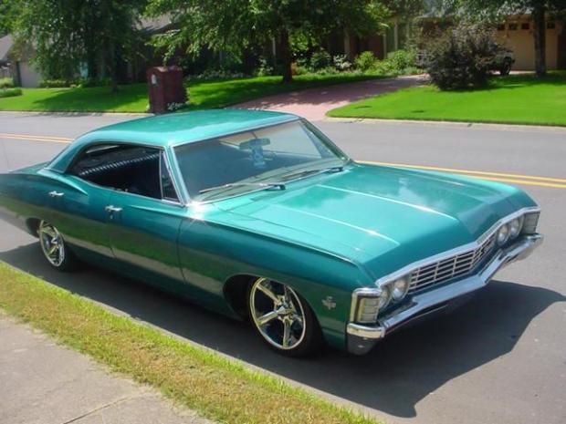 1967 Impala muscle car